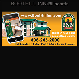 Boothill Inn: billboard